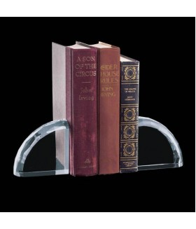 Optic Crystal Bookends