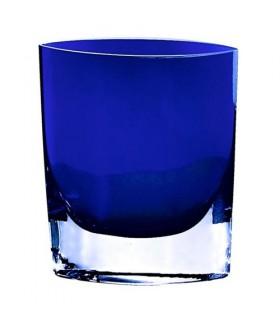 """Samantha Lite Cobalt Cobalt Blue 8"""" Vase"""