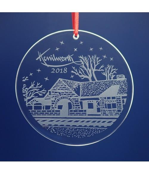 Kenilworth, IL Ornament / Suncatcher