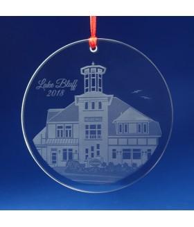 Lake Bluff, IL Ornament / Suncatcher