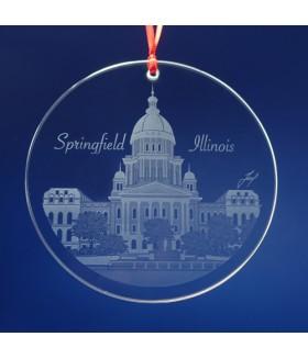 Springfield, IL Ornament / Suncatcher