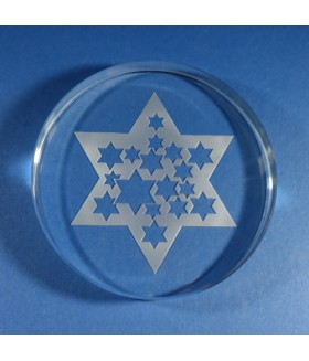 Star of David Paperweight