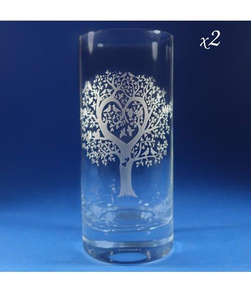Hiball Lovers - Pair of Hiball Glasses