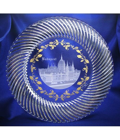 Budapest Crystal Plate