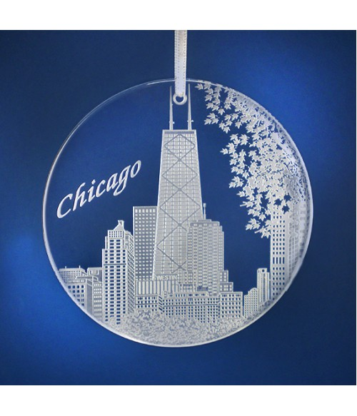 Chicago Ornament w Hancock