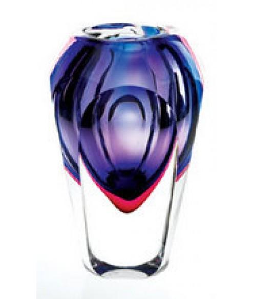 Astra Art Glass Vase Violet