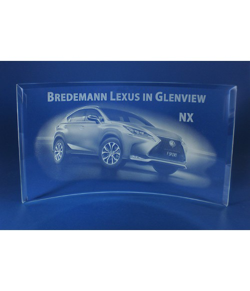 Laser Engraving for Bredemann Lexus on Crescent