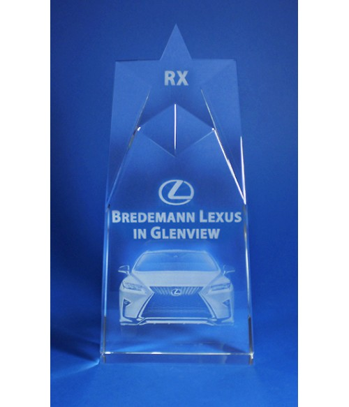 Laser Engraving for Bredemann Lexus on Star