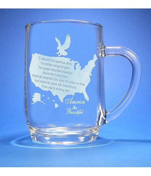America the Beautiful Mug