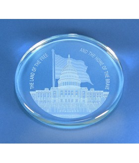 Washington DC Paperweight