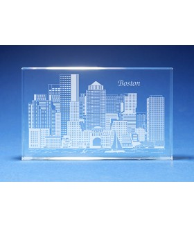 Boston Skyline Paperweight