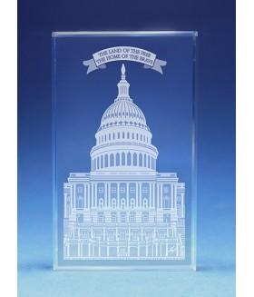 Washington DC Capitol Paperweight