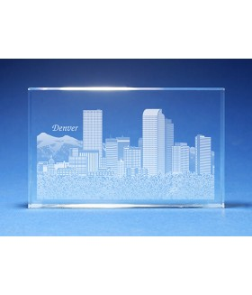 Denver Skyline Paperweight