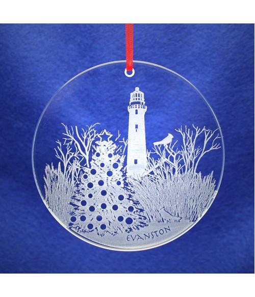 Evanston Christmas Ornament