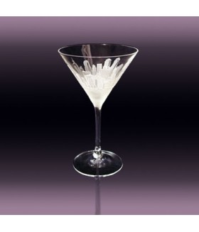 New York Manhattan Martini Glass