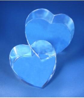 Double Crystal Heart