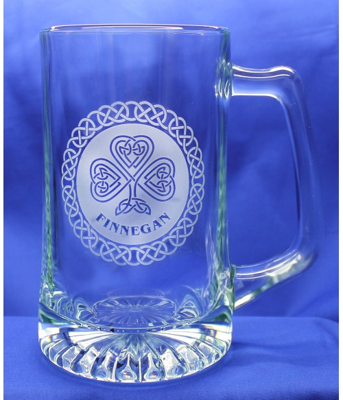Beer Mug Large w/ Personalized Celtic Design