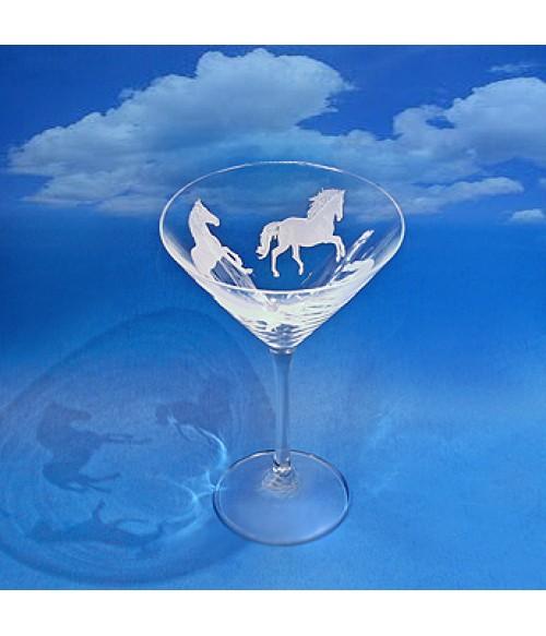 Equestrian Classico Martini Glass